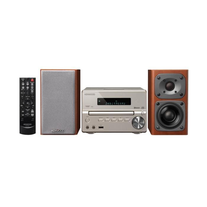 ケンウッド Compact Hi-Fi System コンポ XK-330-N (ゴールド)