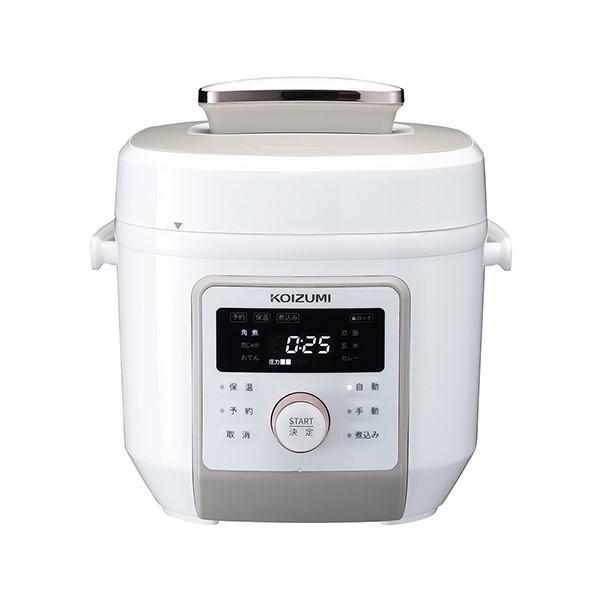 コイズミ マイコン電気圧力鍋 KSC-4501-W (ホワイト)