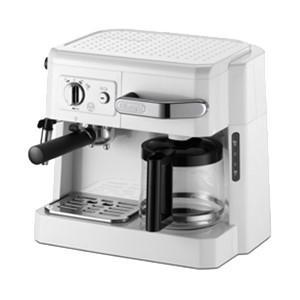 デロンギ コンビコーヒーメーカー BCO410J-W(ホワイト)