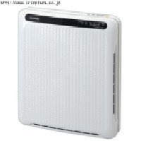 PM2.5対応 空気清浄機〔ホコリセンサー付〕 /PMAC-100-S ホワイト/グレー・・・