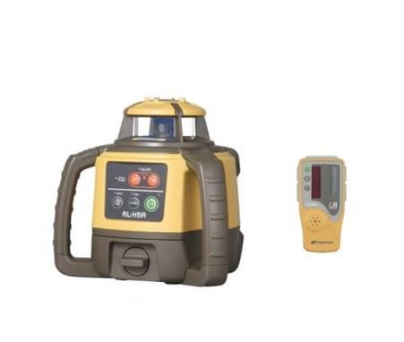 トプコン ローテーティングレーザー RL-H5A DB + 受光器 LS-80L 乾電池式 国・・・