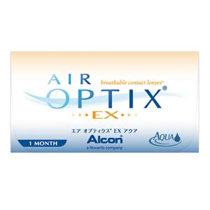 [処方箋不要]エア オプティクス EX アクア [3枚入り][1ヶ月] 商品画像2:アースコンタクト