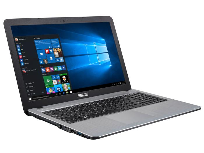ASUS VivoBook X540LA X540LA-HSILVER [シルバーグラディエント]