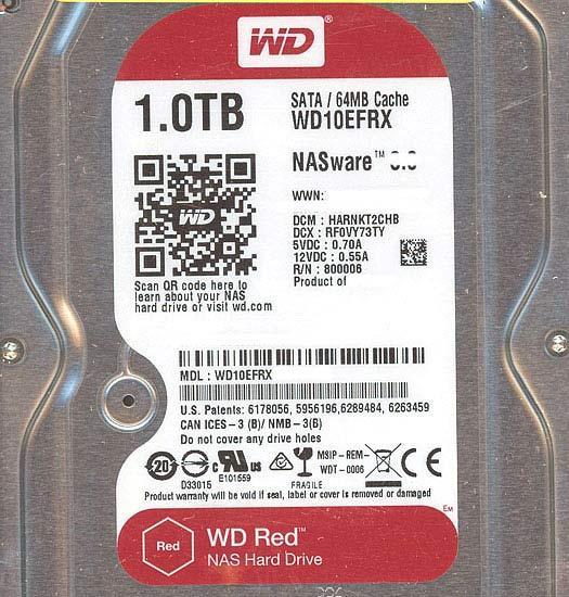 Western Digital製HDD WD10EFRX 1TB SATA600 商品画像8:オンラインショップ エクセラー