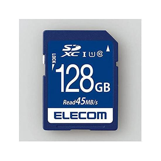 ELECOM SDXCメモリーカード MF-FS128GU11R 128GB