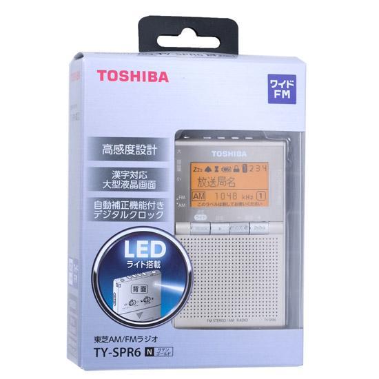 TOSHIBA ワイドFM/AMポケットラジオ TY-SPR6-N