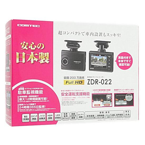 コムテック ドライブレコーダー ZDR-022