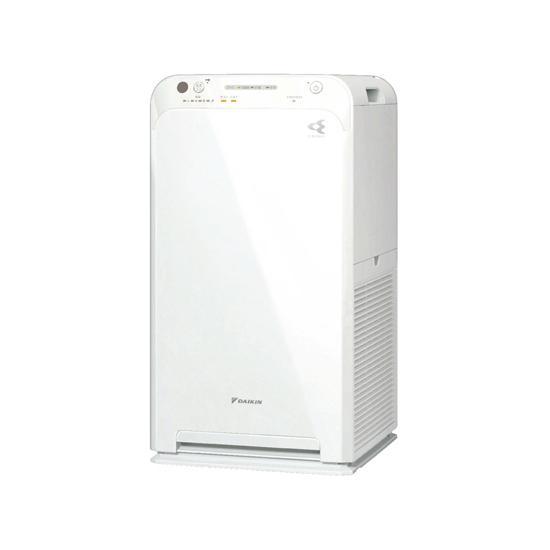 DAIKIN ストリーマ空気清浄機 ワイヤレスリモコン付 ACM55X-W ホワイト