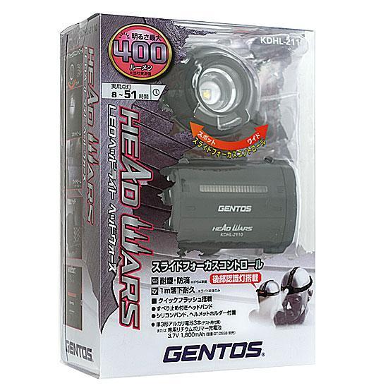 GENTOS LEDヘッドライト ヘッドウォーズ KDHL-2110 商品画像1:オンラインショップ エクセラー