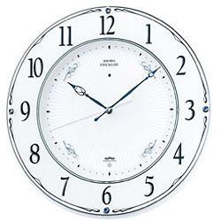 セイコー LS230W 電波・スイープ掛時計