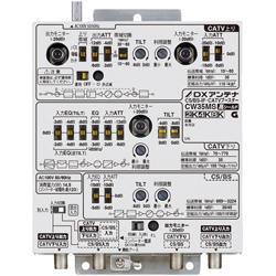 DXアンテナ CW35MS CS/BS-IF・CATVブースター(35dB形)4K/8K対応