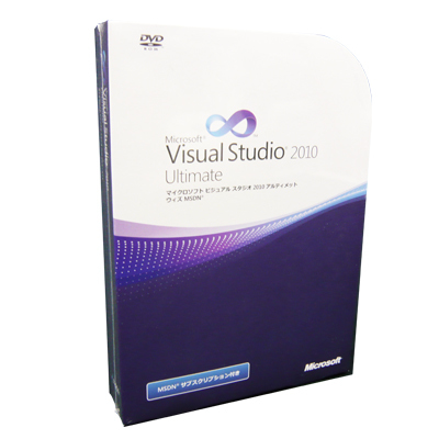 Visual Studio 2010 Ultimate with MSDN