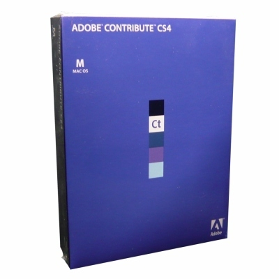 Adobe Contribute CS4 日本語 Mac版