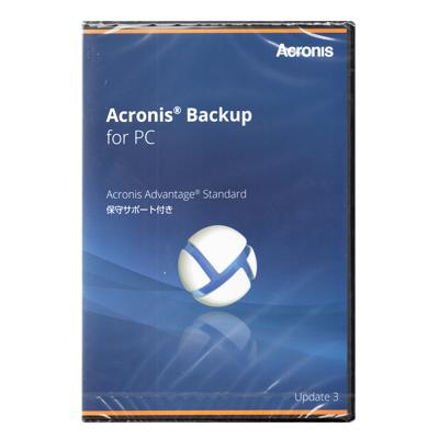 アクロニス Acronis Backup for PC incl. AAS BOX PCWNBSJPS91