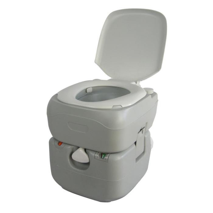 SunRuck ポータブル水洗トイレ 21L SR-PT4521
