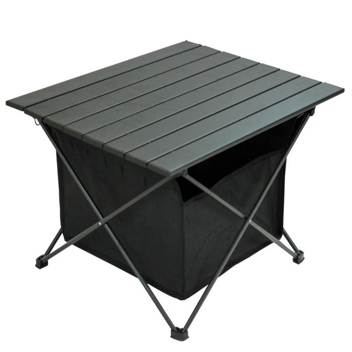 Landfield アウトドア折り畳みサイドテーブル LF-FST010