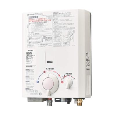 ☆*ノーリツ* GQ-531W ガス小型湯沸器 屋内壁掛設置型 先止め式[GQ-521Wの後・・・