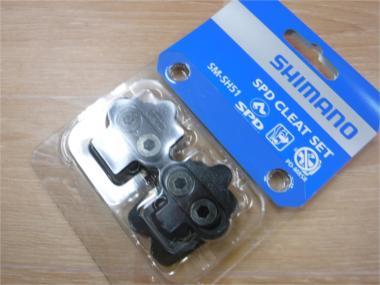 SHIMANO SM-SH51 ペダルクリートセット(ナットなし) ブラック・・・