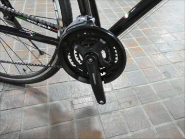 GIOS ミストラル クランクガード ブラック 商品画像1:カンザキバイク