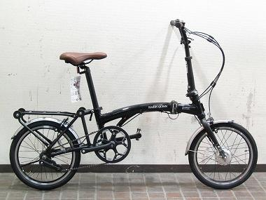 HARRY QUINN PORTABLE E-BIKE AL-FDB160E [Black]