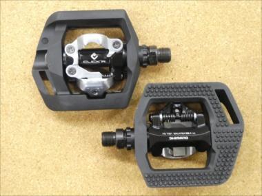 SHIMANO クリッカーペダル PD-T421 ブラック