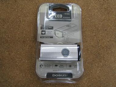 DOSUN ドゥサン SF-300 USB充電式 [シルバー]
