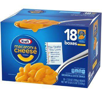 Kraft クラフト マカロニ&チーズ 18個入(205.5gx18個) チーズソースミ・・・
