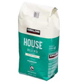カークランドシグネチャー スターバックス ハウスブレンド コーヒー (豆) 1.1・・・
