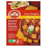 MTR READY TO EAT カッテージチーズ&バターカレー 300g