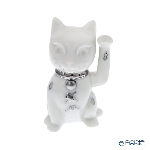 リヤドロ 招き猫 ホワイト 09283