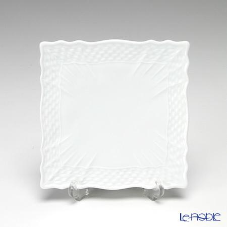 リチャードジノリ(Richard Ginori) ベッキオホワイト スクエアプレート 10×10cm