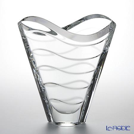 バカラ(Baccarat) ウェーブ 2-102-668 ベース(花瓶) 22.5cm