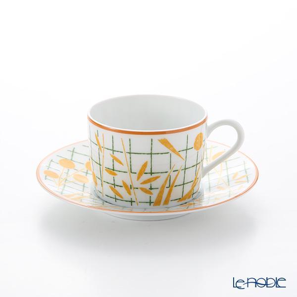 エルメス(HERMES) ウォーク・イン・ザ・ガーデン ティーカップ&ソーサー イ・・・
