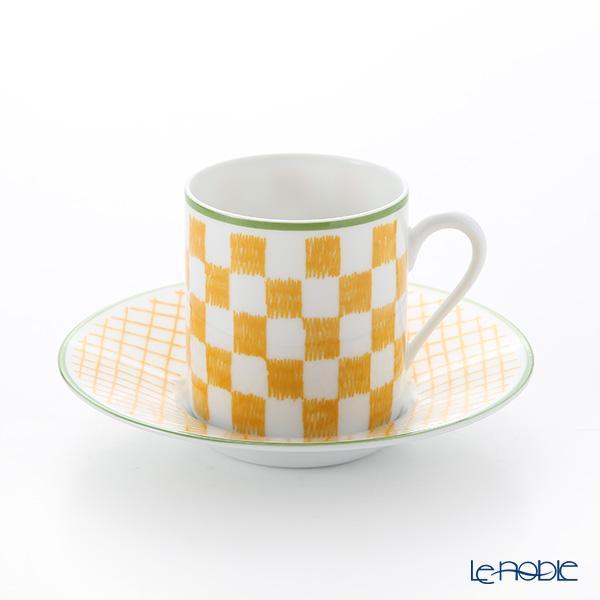 エルメス(HERMES) ウォーク・イン・ザ・ガーデン コーヒーカップ&ソーサー ・・・