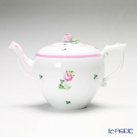 ヘレンド ウィーンのバラ ピンク 00606-6-09 ティーポット(ローズ) 800c・・・