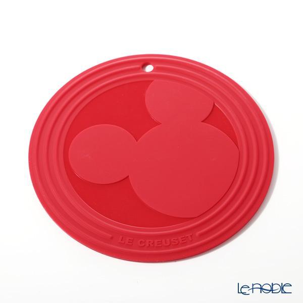 ル・クルーゼ(LeCreuset)トリベット(鍋敷き) ミッキーマウス 20cm チェリーレ・・・
