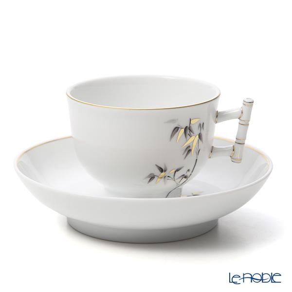 ヘレンド バンブー SAJU 03464-0-91 ティーカップ&ソーサー(バンブー) 150cc