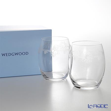 ウェッジウッド(Wedgwood) フェスティビティ クリスタル タンブラー ペア 200・・・