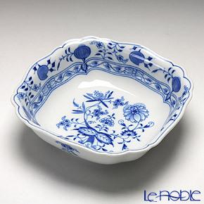 マイセン(Meissen) ブルーオニオン 800101/00251 角鉢