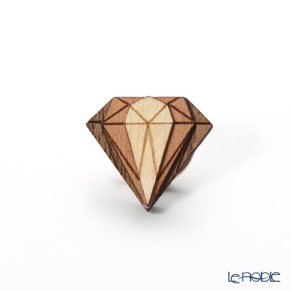 BeWooden LF5 ピンバッジ Diamond Lapel