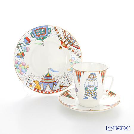 ロシア食器 インペリアル・ポーセリン バレエコレクション 3ピースセット ペ・・・