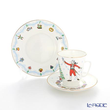 ロシア食器 インペリアル・ポーセリン バレエコレクション 3ピースセット く・・・