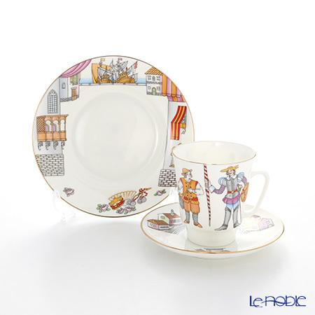 ロシア食器 インペリアル・ポーセリン バレエコレクション 3ピースセット ド・・・