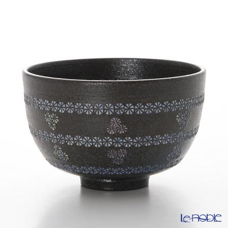 京焼・清水焼 抹茶碗 M0034 南蛮帯三島