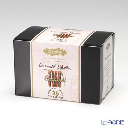 プリミアスティー(高級インド紅茶) コンチネンタルセレクション ティーバッグセット 25個入 キャラメル