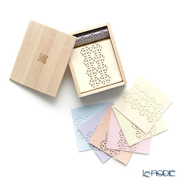 cohana 折り紙式 お箸飾り・箸置き 伊勢和紙 アソート13枚入セット 蓋付木箱・・・