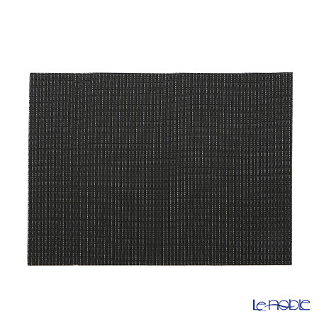シェーンプラス ウィーブプリント プレースマット 43×30cm ブラック ZPT5052・・・