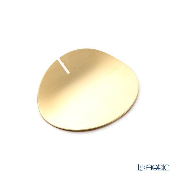 クチポール カトラリーレスト(ナイフレスト) ゴールド マット仕上げ