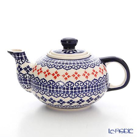 ポーリッシュポタリー(ポーランド陶器) ボレスワヴィエツ ティーポット 420ml・・・