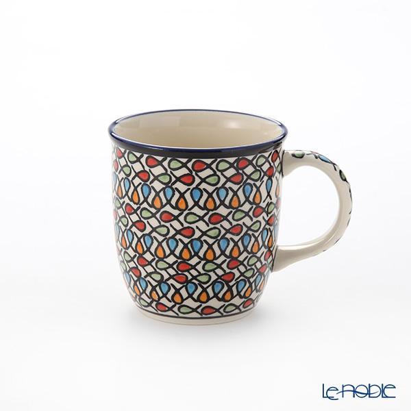 ポーリッシュポタリー(ポーランド陶器) ボレスワヴィエツ マグ350ml/9.7cm 1・・・